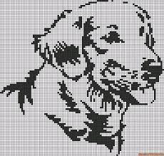Afbeeldingsresultaat voor kruissteekpatroon labrador
