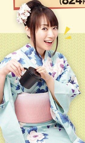 "Nana Mizuki Teaches Us the Proper Way to Eat Eel as the new ""image girl"" for Nakau, a Japanese restaurant chain (2015)."