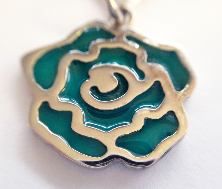 Enamel adds great color to this charm - choose yours, starting at $125