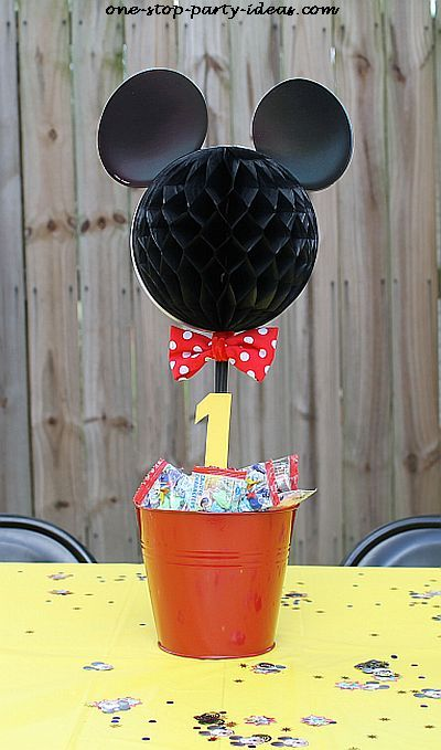 Simple Mouse Halloween Costume: 1000+ Ideas About Mickey Mouse Centerpiece On Pinterest