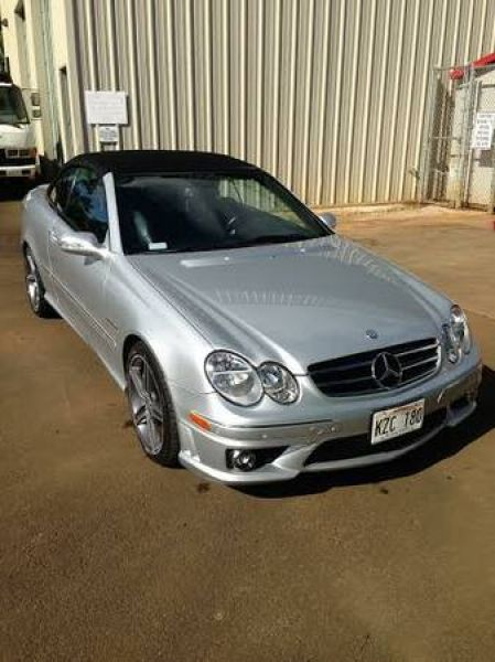 Used 2007 Mercedes-Benz CLK63 Convertible