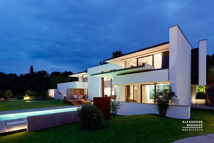 Vista House, Villa in Stuttgart - Alexander Brenner Architects