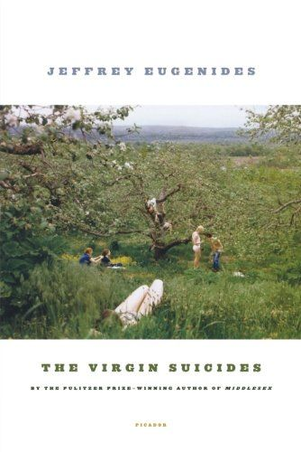 "MICHIGAN: ""The Virgin Suicides"" by Jeffrey Eugenides. ""The Virgin Suicides"" is a gripping tale of five beautiful yet eccentric sisters who commit suicide all in the same year in Gross Pointe, Mich. It is written from the perspective of an anonymous group of boys who are observant, infatuated, and endlessly struggling to explain the tragedy."