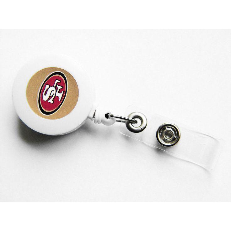 Aminco Ncaa SAN Francisco 49ers Retractable Badge Reel Id Ticket Clip