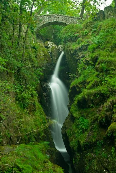The most popular and most highly visited of the many spectacular waterfalls in the Lake District is Aira Force