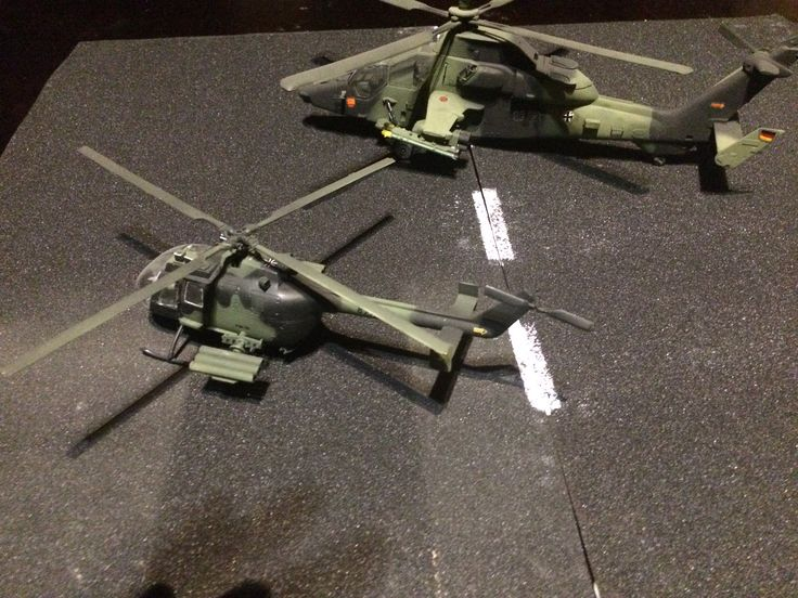 1:48 eurocopter tiger and bo105 bundeswehr