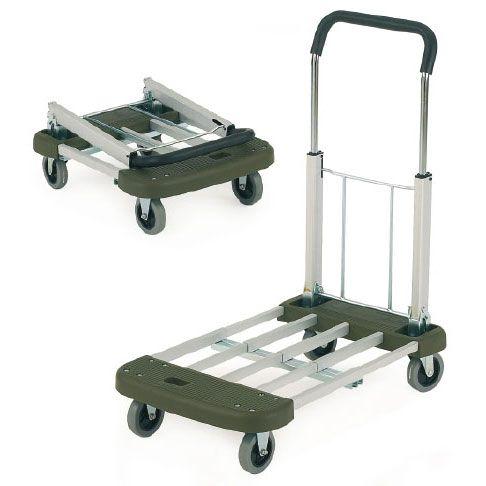 Aluminium Folding Trolley with Telescopic Handle / Base