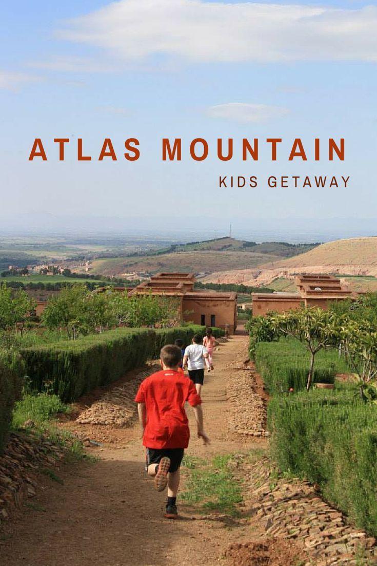 Ziplining in the Atlas Mountains