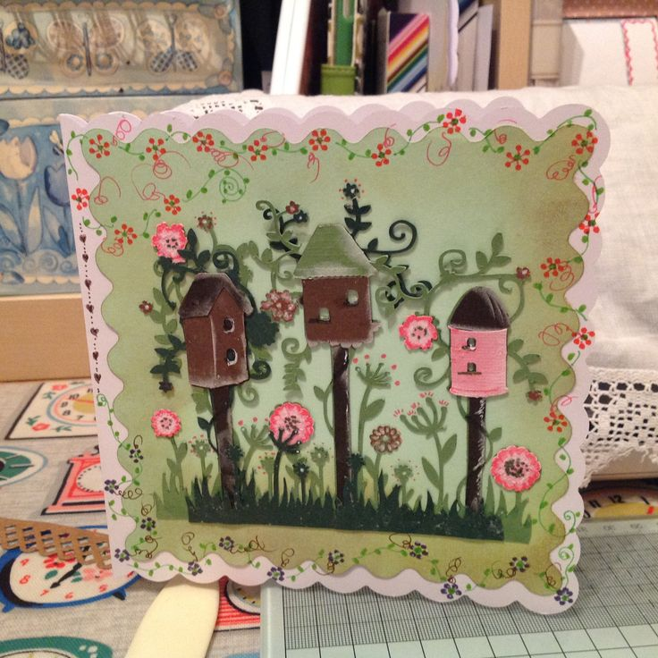 Made by Marga Davies - This card was made using the Brother Scan and Cut, the Tattered lace USB  I was'nt planning on making this card, just finding out what I can do with the scan and cut.