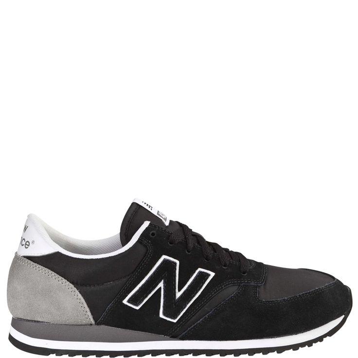 New Balance 420 Black/Grey suede