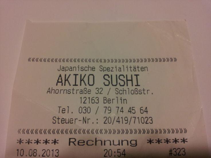Sushi in Berlin - Steglitz, Germany