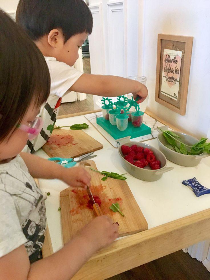 Summer Practical Life – Three Minute Montessori