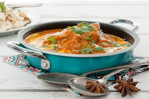 Indian Mango Chicken Curry