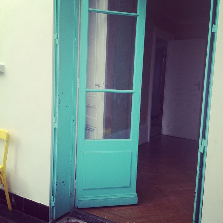 My home #couleurs #maison #deco #jaune #yellow #blueocean #turquoise