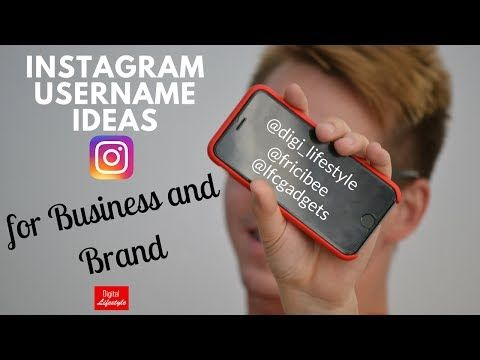 Check out my video 💥 Instagram username ideas for businesses and brands https://youtube.com/watch?v=DlqkzpzzTMk