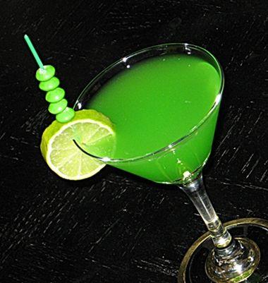 Green Skittles Martini | Hampton Roads Happy Hour - g.10.4