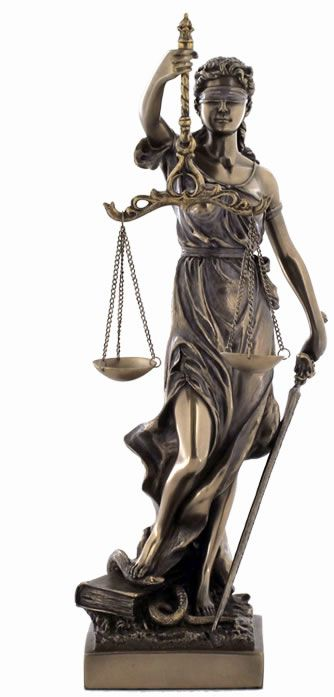 I am mocked by statues who promise supposed fairness and universal egality in the eye of the court. Never believe such lies as these, for the court preys on the weak souls of those who have faith.