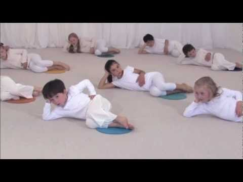 From yoga to dance for kids - cool down sequence