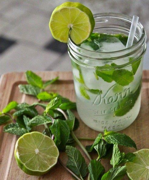 Lime + Mint.
