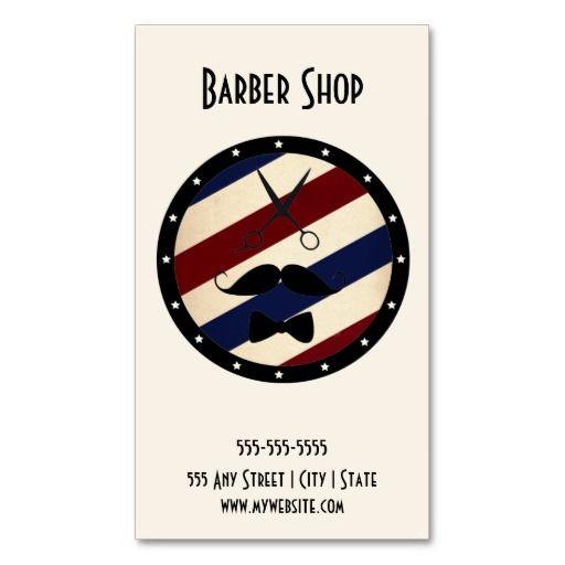 201 best Barber Business Cards images on Pinterest