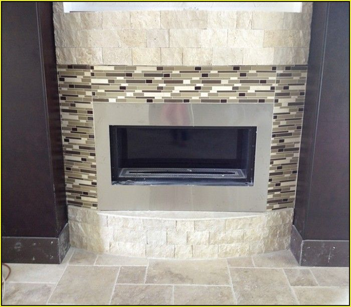 Modern fireplace mantels and surrounds fireplace tile surrounds and mantels best home design - Build contemporary fireplace ideas ...