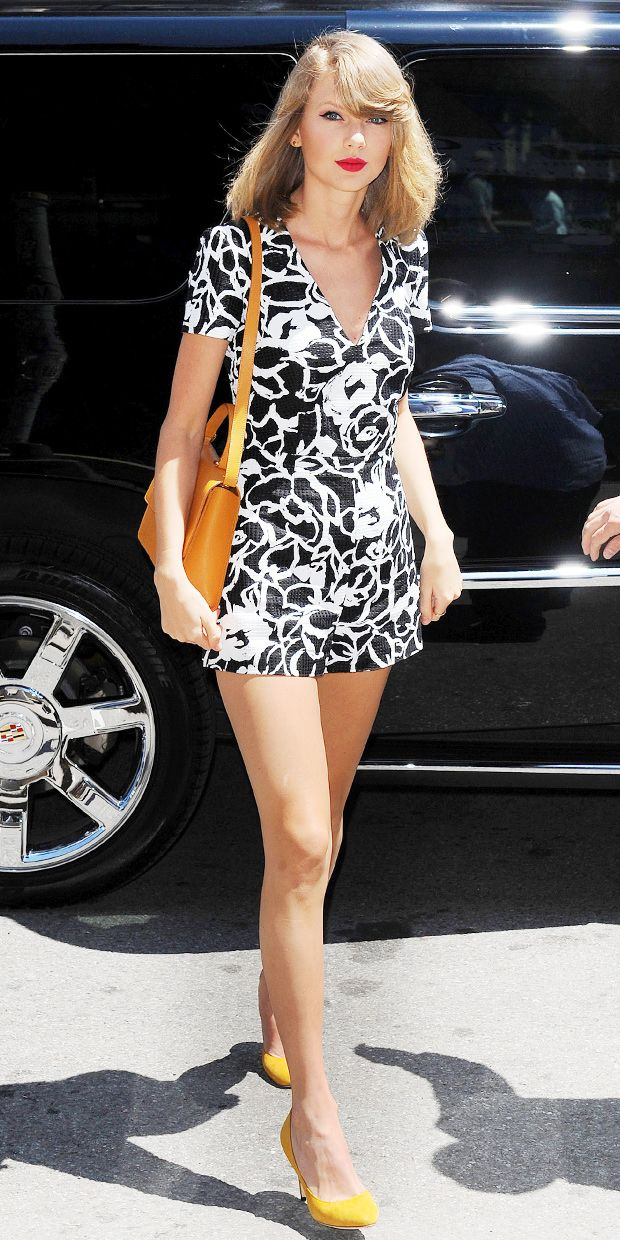 Taylor Swift's leggy romper look is perfect for summer ...