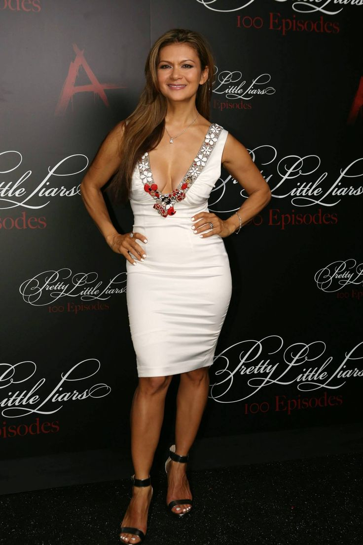 Nia Peeples looked white hot at the #PLL100 party!   Don't miss the #PLL100 episode Tuesday, July 8 on ABC Family! | Pretty Little Liars