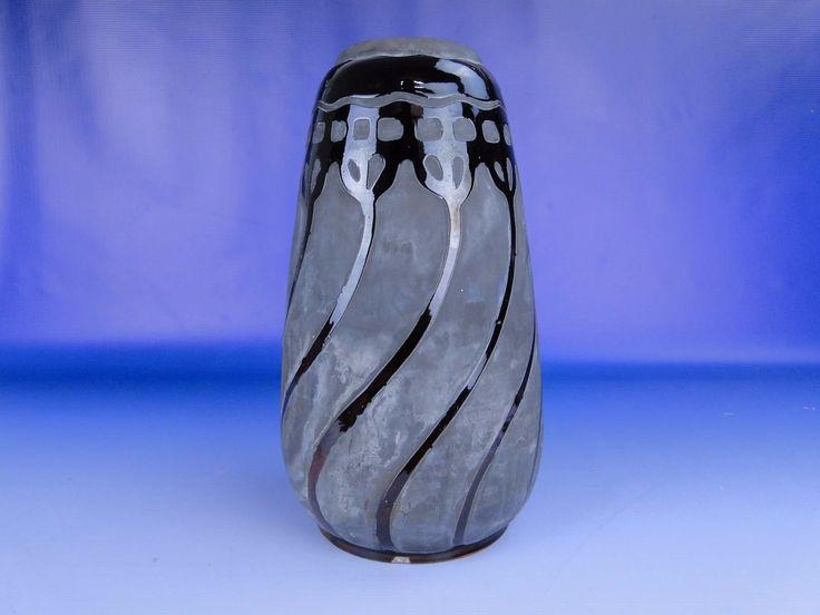 0E458 Antik BADÁR BALÁZS mezőtúri kerámia váza - Kerámia | Galéria Savaria online piactér - Antik, műtárgy, régiség vásárlás és eladás