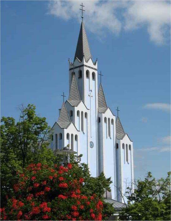 Hévíz - Római katolikus templom (Jézus Szíve)