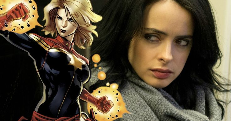'Captain Marvel' Was Almost Introduced in 'Jessica Jones' -- When Netflix's 'Jessica Jones' was still at ABC, the show runners wanted to use 'Captain Marvel'. -- http://movieweb.com/jessica-jones-captain-marvel-netflix-series/