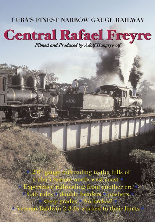 The best of the Cuban narrow gauge sugar cane railroads, as it really was - 2 hours of great viewing.