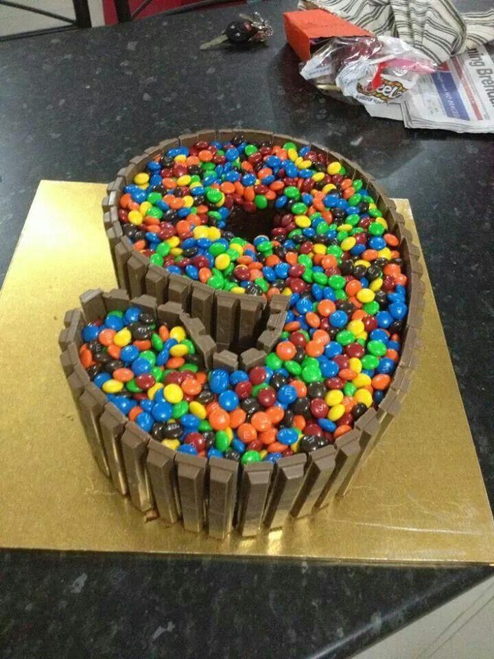 9 Kit Cat Cake Food Sweets Cake 9th Birthday Cake