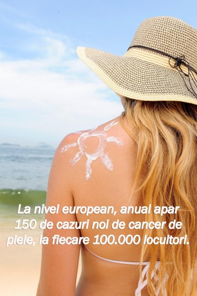 """""""Cancerul de piele diagnosticat rapid poate fi tratat eficient și procentul de supraviețuire pe termen lung este ridicat. https://www.facebook.com/photo.php?fbid=515349165166785=a.259346620767042.54971.211191115582593=1"""