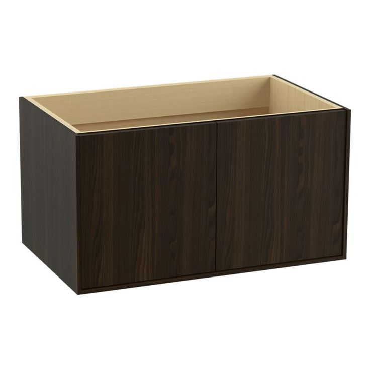 """Kohler K-99542 Jute 36"""" Vanity Cabinet Only - Wall Mounted Installation Type Jersey Oak Fixture Vanity Single"""