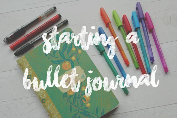 Really clear description of how to set up your Bullet Journal — Sarah's Chapter: STARTING A BULLET JOURNAL
