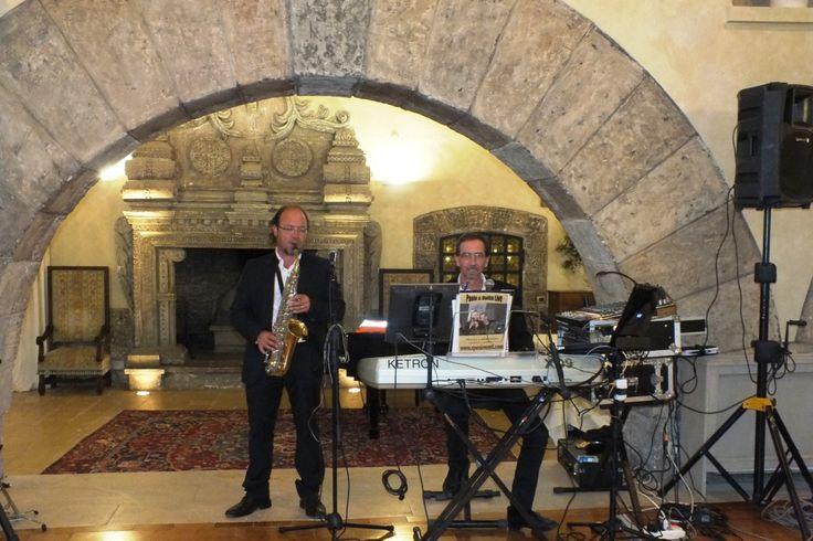 Paolo e Dalila Live gruppo musicale per matrimonio Lecce, Bari, Taranto. Matrimonio a castello monaci con il maestro al sax R. Vecchio