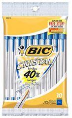 2 FREE Bic Cristal Pens 10-Packs at Walgreens (8/5-8/11) on http://hunt4freebies.com