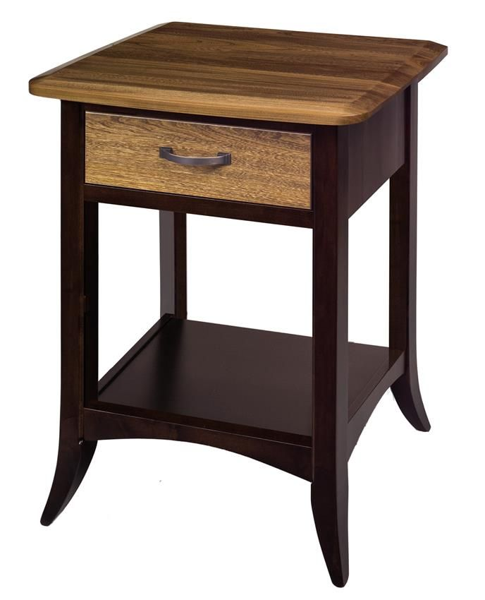 color combo for redoing nightstands. Amish Christy One Drawer Nightstand