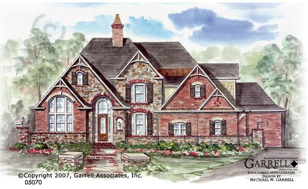Garrell associates inc wellesley house plan 05070 for European home designs llc