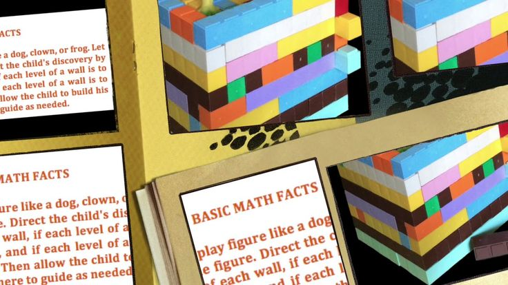 Build a house of addends and factors using base ten blocks