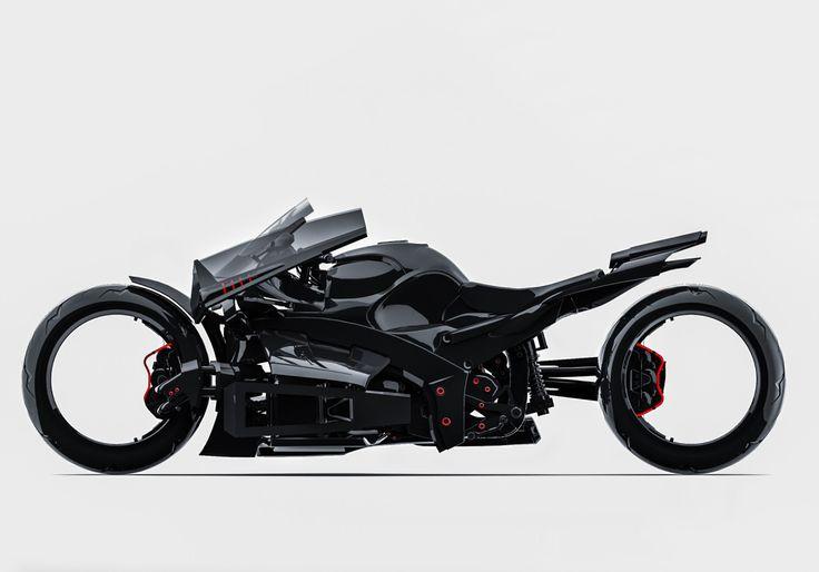 Bike design by Denys Yelysavetskyi