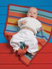 Karkki-vauvanpeitto