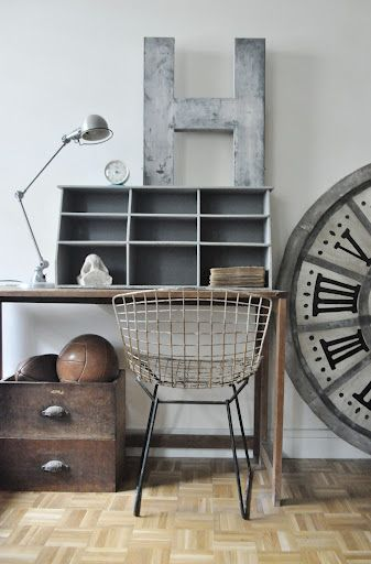 French Industrial Chic From Le Parisienne Deco. Maison.