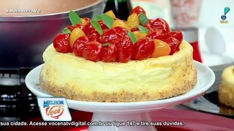 Culinária do Edu ensina a fazer cheesecake salgado