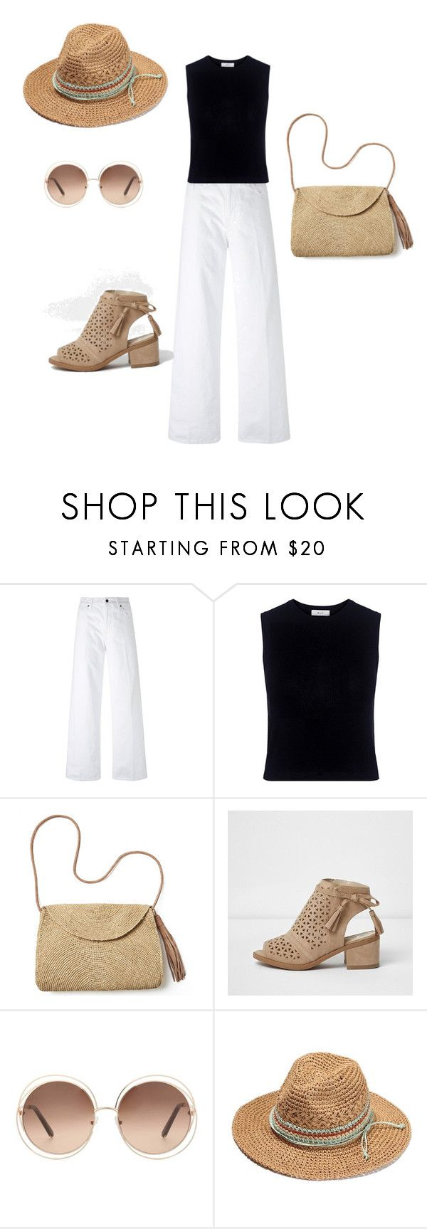 """trian inv"" by indunna-estetica-integral ❤ liked on Polyvore featuring Vince, A.L.C., Mar y Sol and Chloé"