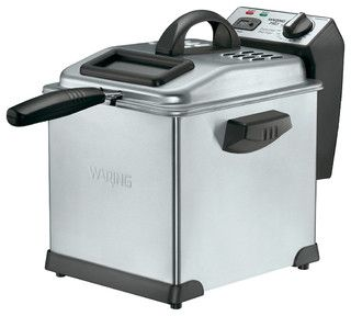 Waring Pro 1,800-Watt Digital Deep Fryer - contemporary - small kitchen appliances - by HPP Enterprises