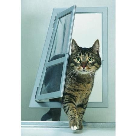 Ideal Pet Passage Screen Door Easy To Install And Easy To Use.   : Cats furniture