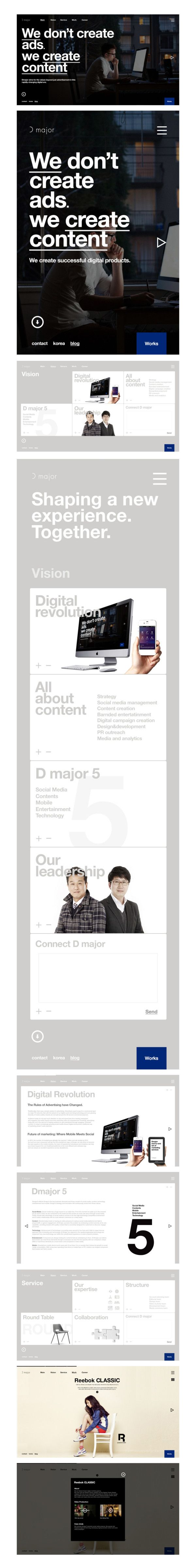 #website from Bory Kim #Twitpic #webdesign #website #responsive