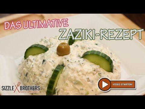 Zaziki   Tzatziki - Rezept - Bester Zaziki der Welt - YouTube