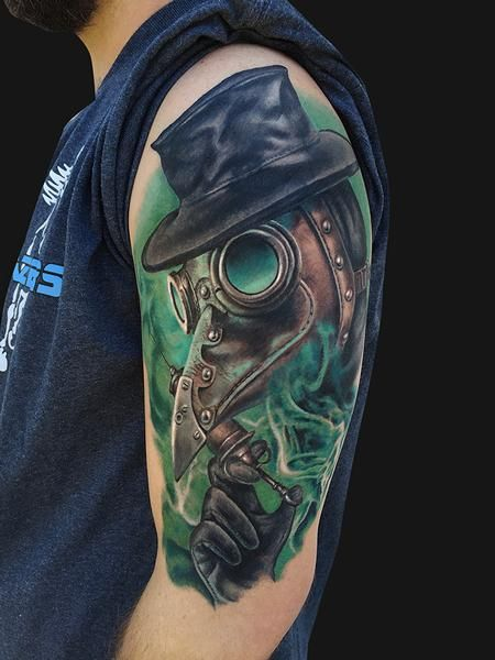Plague Doctor Tattoo Design Thumbnail